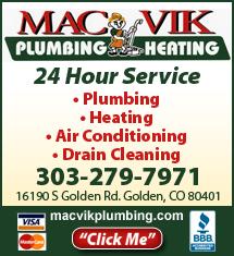 Mac-Vik Plumbing & Heating - Golden, CO