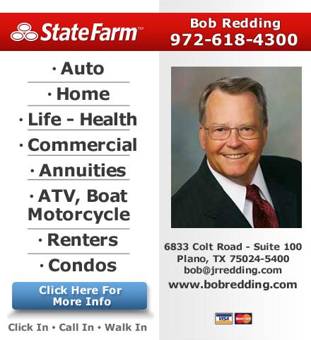 Bob Redding-State Farm Insurance Agent - Plano, TX