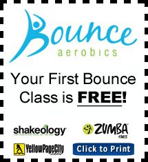 Bounce Aerobics Coupon