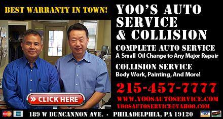 Yoos General Auto Svc - Philadelphia, PA
