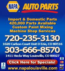 NAPA Auto Parts - Louisville, CO
