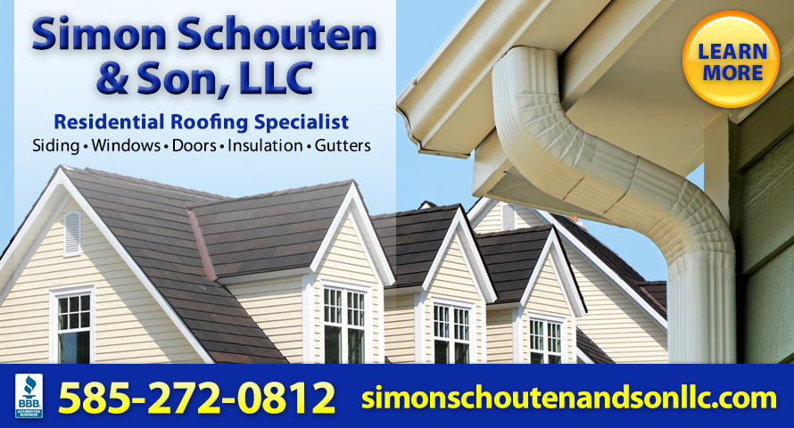 Top 10 Roofing Contractors Rochester NY