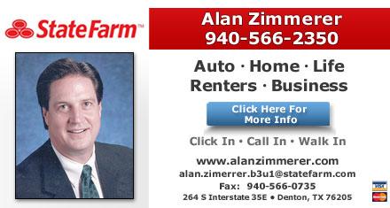 Alan Zimmerer Insurance - Denton, TX