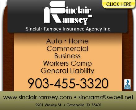 Sinclair-Ramsey Insurance - Greenville, TX