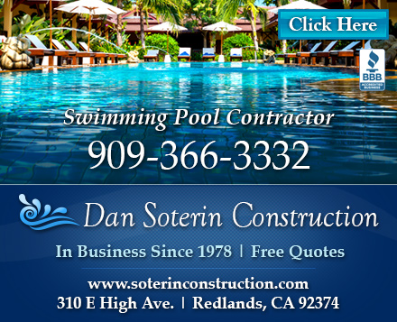 Bob Jones Custom Pools & Spas Banner