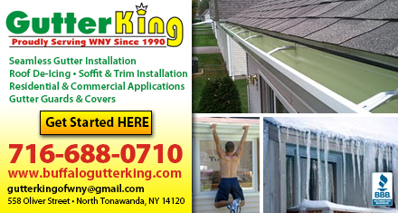 Gutters and Downspouts in Buffalo NY