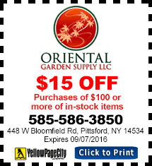 Oriental Garden Supply Coupon