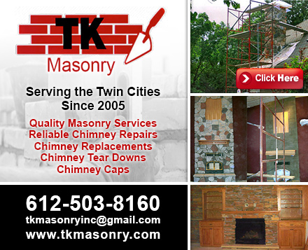 Chimney Builders And Repair In Minneapolis Mn