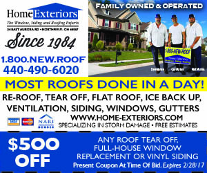 Home Exteriors Roofing