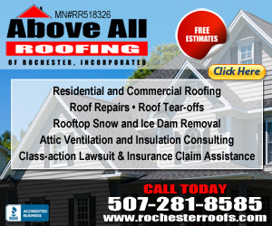 Above All Roofing of Rochester
