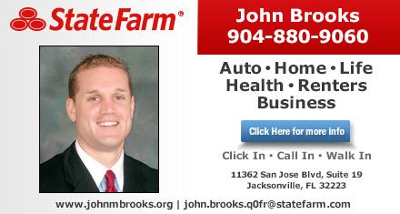 John Brooks State Farm Insurance Agent Jacksonville Fl Insurance