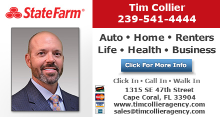 Tim Collier State Farm Insurance Agent Cape Coral Fl Insurance