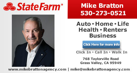 Mike Bratton State Farm Insurance Agent Grass Valley Ca Insurance