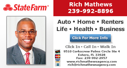 Rich Mathews State Farm Insurance Agent Estero Fl Insurance